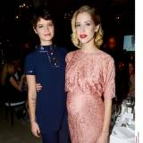 Pixie Geldof (w sukni Moschino) i Peaches Geldof (Moschino Cheap & Chic) na ELLE Style Awards 2013, fot. East News