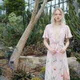 Maja Salamon w lookbooku Zara