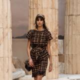 Chanel Resort 2018 - ciemna tunika