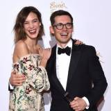Alexa Chung i Erdem Moralioglu na British Fashion Awards 2015