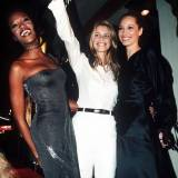 Naomi Campbell, Claudia Schiffer i Christy Turlington, 1996 rok