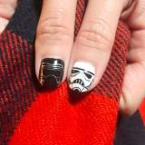Manicure w Star Wars - Darth Vader i Trooper