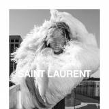 Raquel Zimmermann w kampanii Saint Laurent