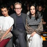 Ruth Negga, Paul Bettany i Jennifer Connelly na pokazie Louis Vuitton jesień-zima 2018/2019