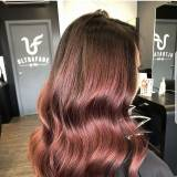 Modne fryzury 2018: Rose Brown Hair