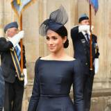 Meghan Markle na obchodach 100. rocznicy Royal Air Force w opactwie Westminster Abbey, 10.07.2018.