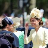 Meghan Markle i Kate Middleton na Trooping The Colour 2019.