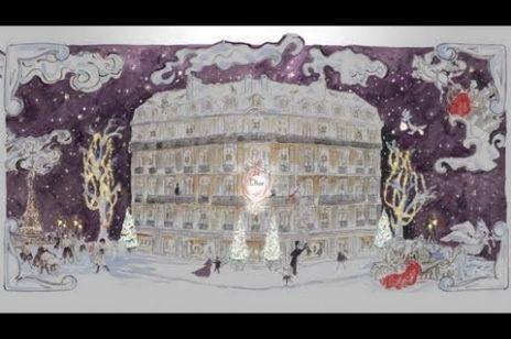 Życzenia świąteczne od Dior