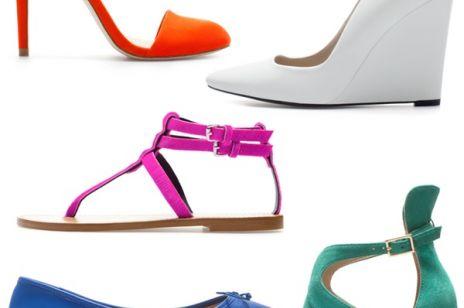 Buty Zara na lato 2013 - shopping