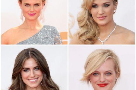 Emmy Awards 2013: makijaż i fryzury gwiazd