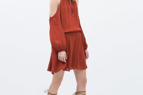 Modne sukienki z sieciówek - wiosna lato 2015
