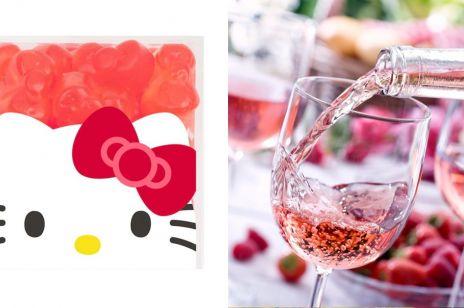"""Powstały żelki z rosé inspirowane """"Hello Kitty"""". Tylko dla dorosłych!"""