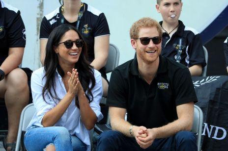Meghan Markle i książę Harry - pierwsze wspólne wystąpienie! [ZDJĘCIA]