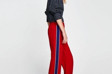 Spodnie z lampasami [trendy wiosna 2018]