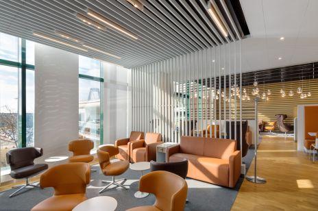 Nowa strefa lounge Lufthansy na lotnisku w Mediolanie