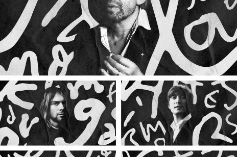 Pismo Cobaina, Bowiego, Gainsbourga jako czcionka