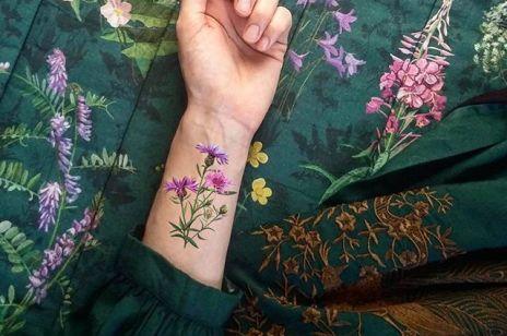 Zmywalne Tatuaże Kobietapl
