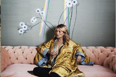 Kate Moss projektuje tapety!