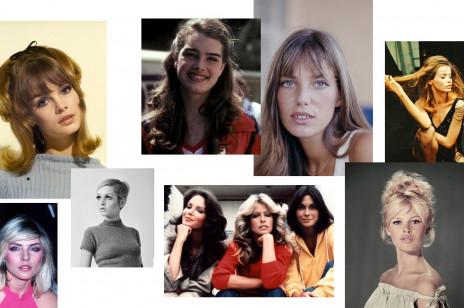 Fryzury gwiazd z lat 60., 70. i 80., które będziesz chciała nosić dziś