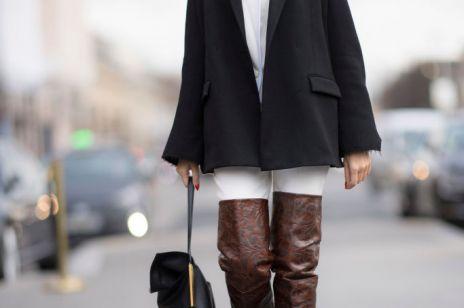 3a32a25ece4ca Kozaki za kolano – najmodniejsze buty na jesień