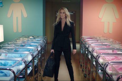 Céline Dion genderową wróżką na oddziale noworodków