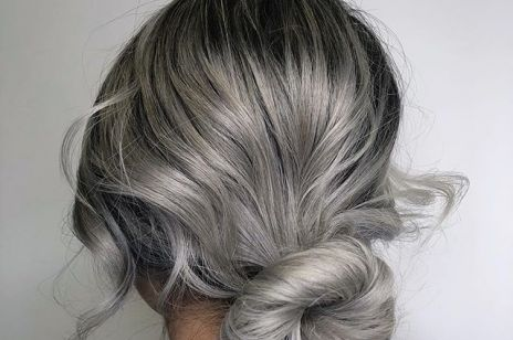 Siwe Włosy Kobietapl
