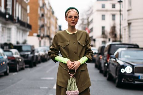 5b2cb8627a Street fashion  London Fashion Week jesień-zima 2019 2020
