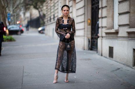 Czarna koronkowa sukienka - jakie dodatki i buty do niej pasują?