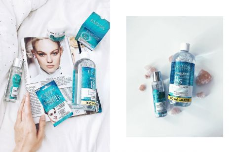 Kosmetyki z kwasem hialuronowym, które warto kupić? ELLE.pl testuje linię Hyaluron Clinic od Eveline Cosmetics