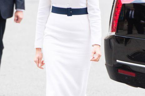 Melania Trump jak księżna Diana? Zobacz stylizację Pierwszej Damy USA inspirowaną słynną arystokratką