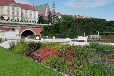 Dolne Ogrody Zamku Królewskiego w Warszawie otwarte