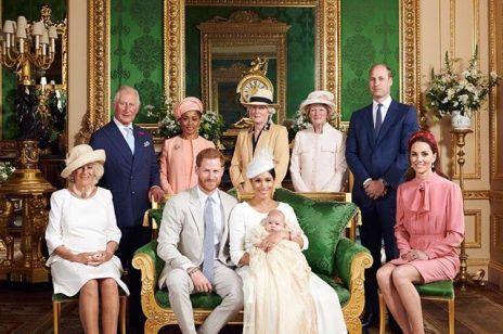 Odbył się chrzest Archiego, syna Meghan Markle i księcia Harry'ego. Rodzina królewska pokazała wzruszające zdjęcia