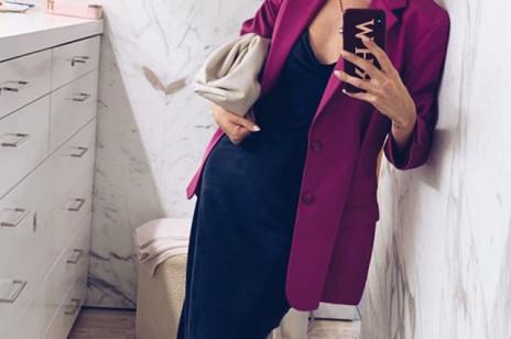Rosie Huntington Whiteley założyła sukienkę polskiej marki