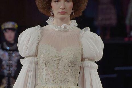 Dolce and Gabbana Alta Moda 2019. Pokaz w La Scali