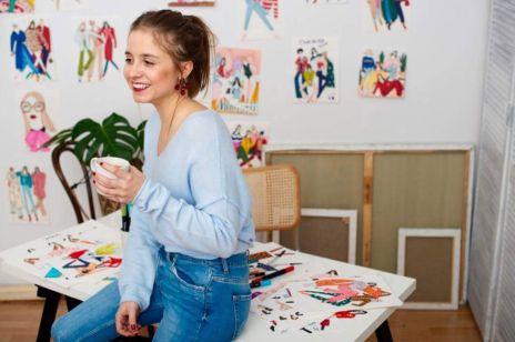 Polska ilustratorka autorką światowej kampanii Marc Jacobs Daisy! Rysunki Karoliny Pawelczyk  pojawiły się właśnie na Instagramie marki.