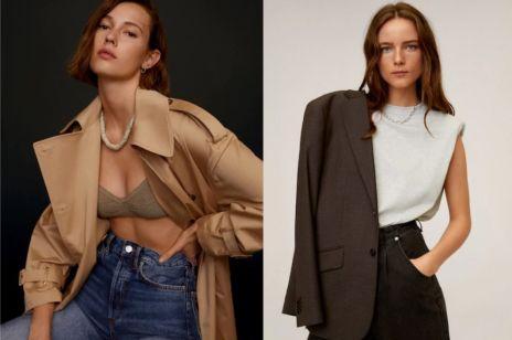 Promocja online w Mango: wzorzyste sukienki i klasyczne płaszcze kupicie teraz 20% taniej [Wyprzedaże 2020]