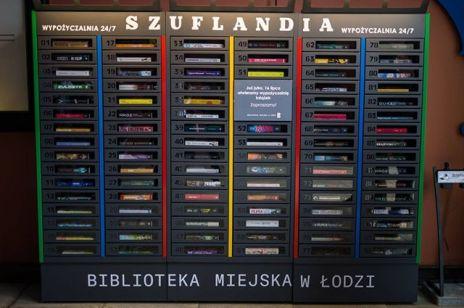 Pierwsza samoobsługowa biblioteka w Polsce - Szuflandia. Można z niej korzystać przez całą dobę