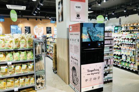 YOPE z automatu w znanym supermarkecie. Będzie można przyjść z własną butelką i napełnić ją ulubionym produktem YOPE