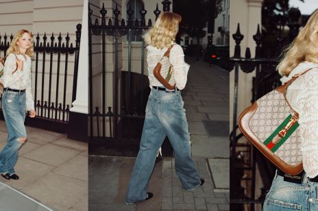 Nowa torebka Gucci inspirowana jest stylem vintage. W latach 60. z podobnym modelem nie rozstawała się Jackie Kennedy
