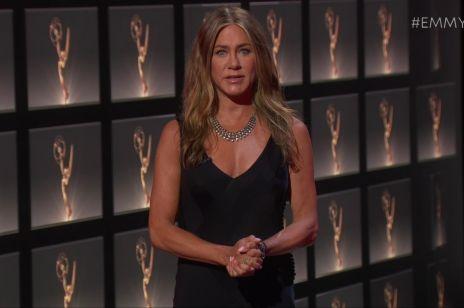 Emmy 2020: suknie i kreacje gwiazd na internetowej gali. Jennifer Aniston, Zendaya, Reese Witherspoon