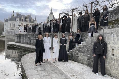 Chanel Métiers d'Art 2020/21. Zamek wielu dam