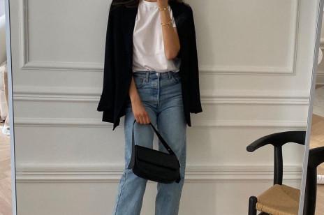 5 modnych stylizacji z mom jeans na wiosnę 2021. Z czym nosić kultowe spodnie lat 80.?