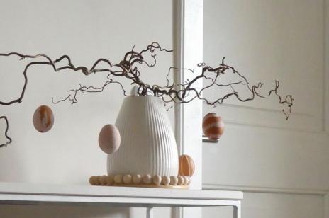Dekoracje wielkanocne: styl skandynawski