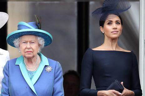Królowa Elżbieta II zareagowała na wiadomość, że Meghan Markle nie zjawi się na pogrzebie księcia Filipa