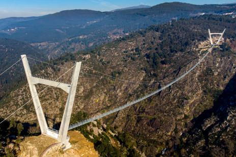 Najdłuższy na świecie most wiszący. Nowa atrakcja Portugalii
