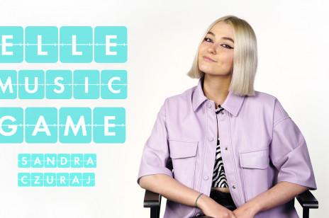 Sandra Czuraj śpiewa i rapuje piosenki Maty, Margaret i Justina Biebera [ELLE Music Game]