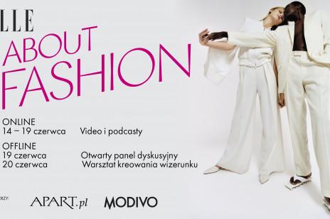 ELLE About Fashion - rozmowy i podcasty. Słuchaj i oglądaj bez ograniczeń