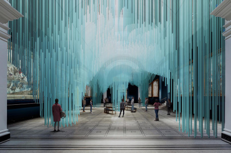Wirtualna instalacja Medusa na London Design Festival 2021. Tin Drum x Sou Fujimoto Architects