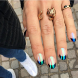 Paznokcie 2019 - trendy: CD nails