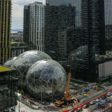 The Spheres, biuro Amazon w Seattle